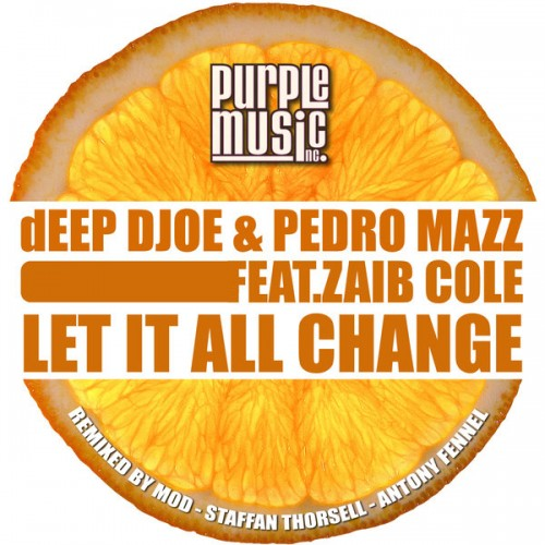 DEEP Djoe, Pedro Mazz ft Zaib Cole -  Let It All Change
